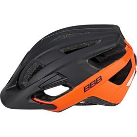 BBB Kite BHE-29 Cykelhjelm, matte black/orange
